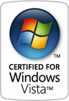[ Certified for Windows Vista ]